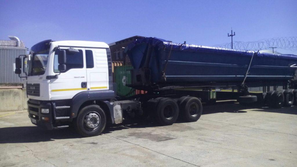 Truck for cash load – Talbot Transport